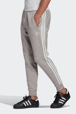 adidas originals joggingbroek 3-stripes pant grijs