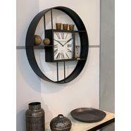 heim interior  seasonal design wandklok zwart