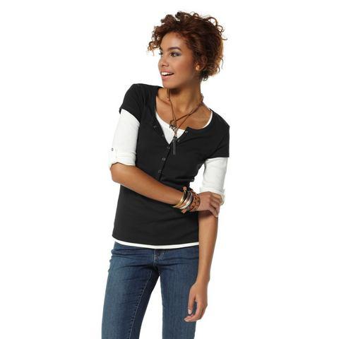 NU 15% KORTING: Flg Flashlights shirt, set van 2