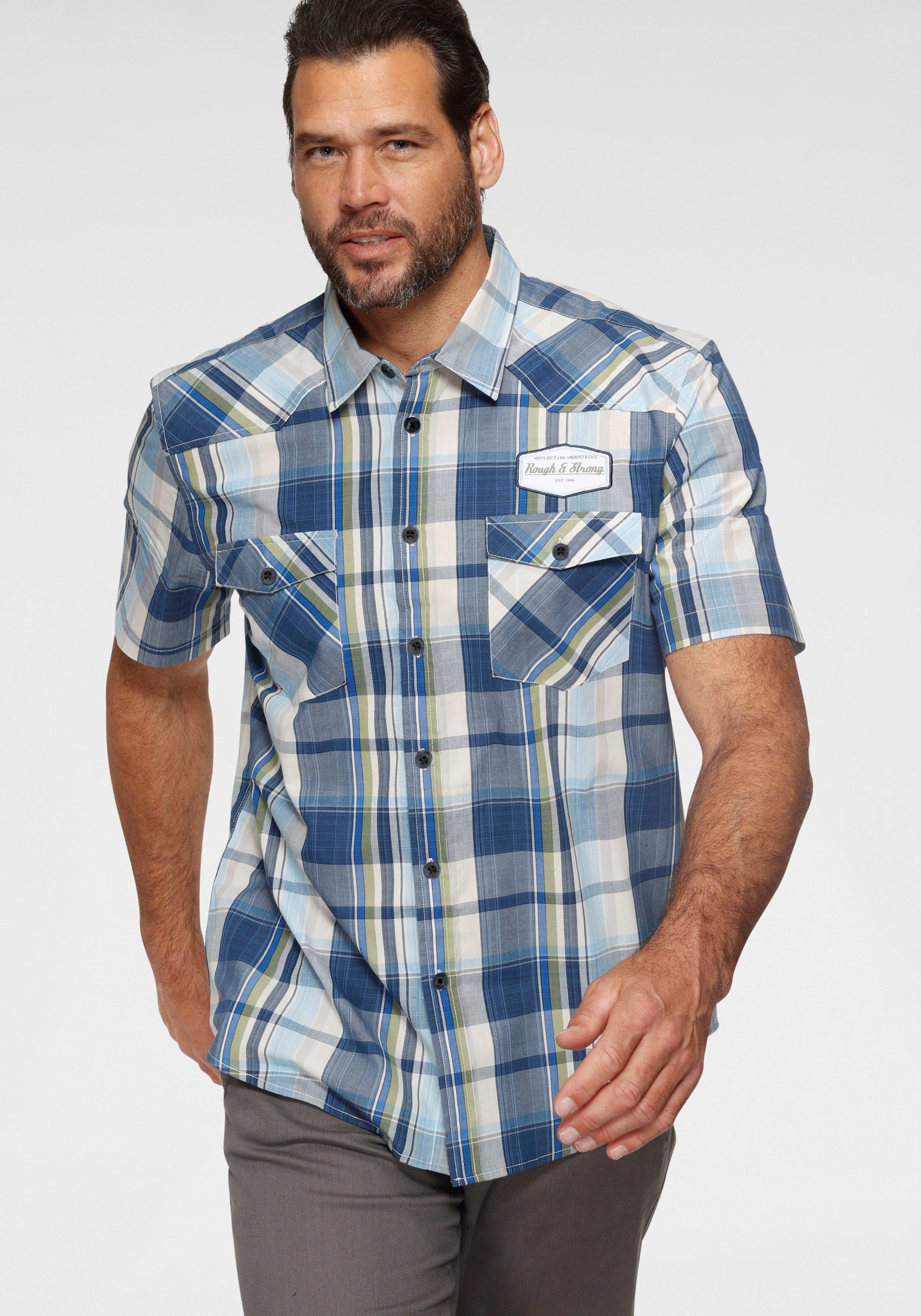 Man's World overhemd met korte mouwen bestellen: 30 dagen bedenktijd