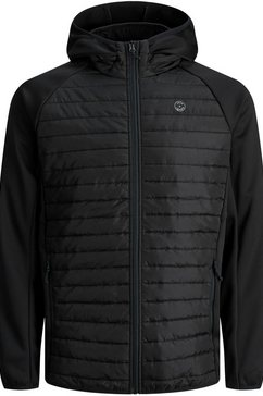 jack  jones junior softshell-jack »jjemulti quilted jacket« zwart