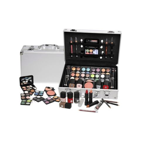 Make-Up Koffer In Aluminium Design, 51-Delig Set