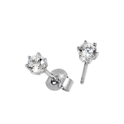 firetti oorbellen: oorstekers 'Solitair'  ca. 5 mm