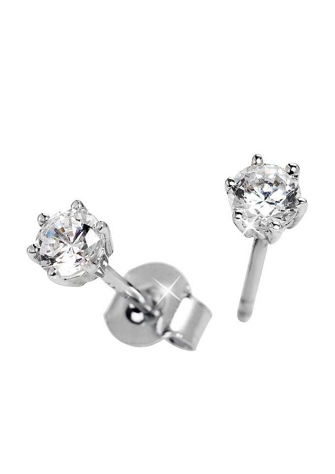 Firetti oorbellen: oorstekers 'Solitair' Ø ca. 5 mm - verschillende betaalmethodes