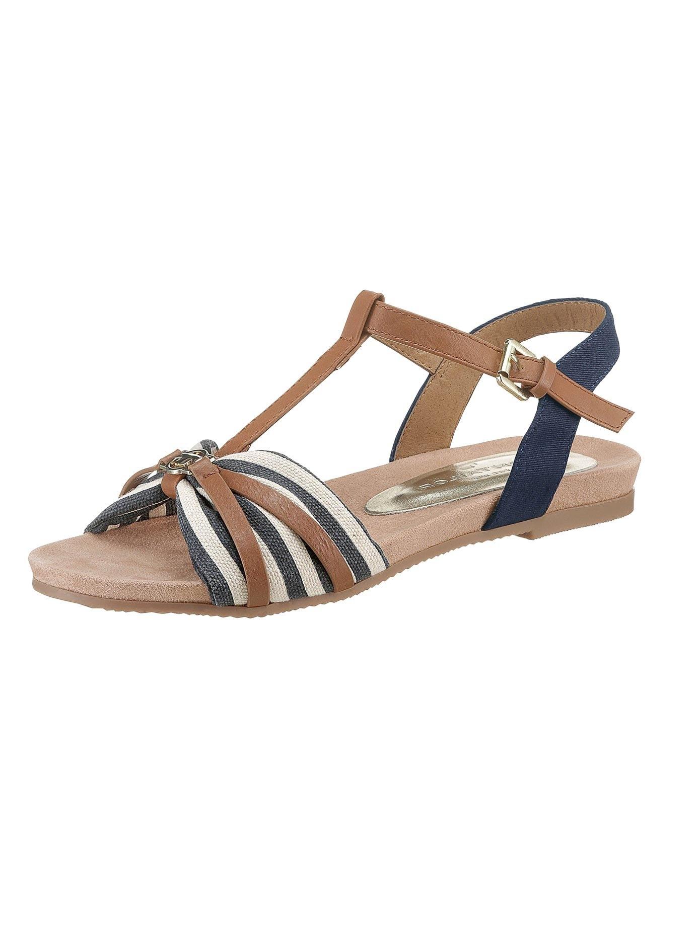 TOM TAILOR sandaaltjes met sierknoop in de webshop van OTTO kopen