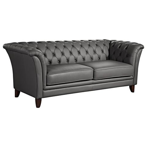MAX WINZER® chesterfield bank New Castle, met chique capitonnage, 2-zitsbank of 2,5-zitsbank