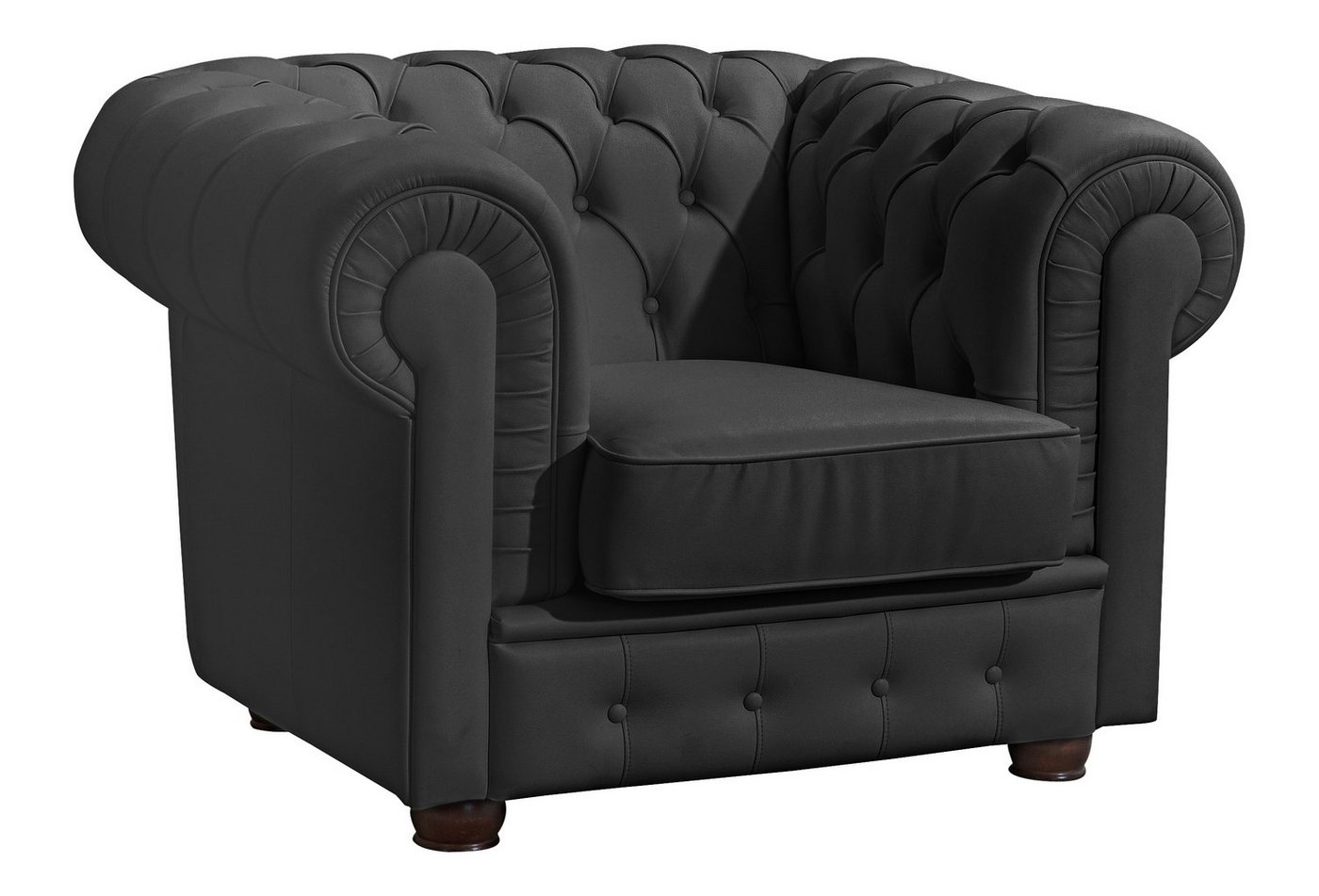 MAX WINZER® chesterfield-fauteuil Windsor, met chique capitonnage