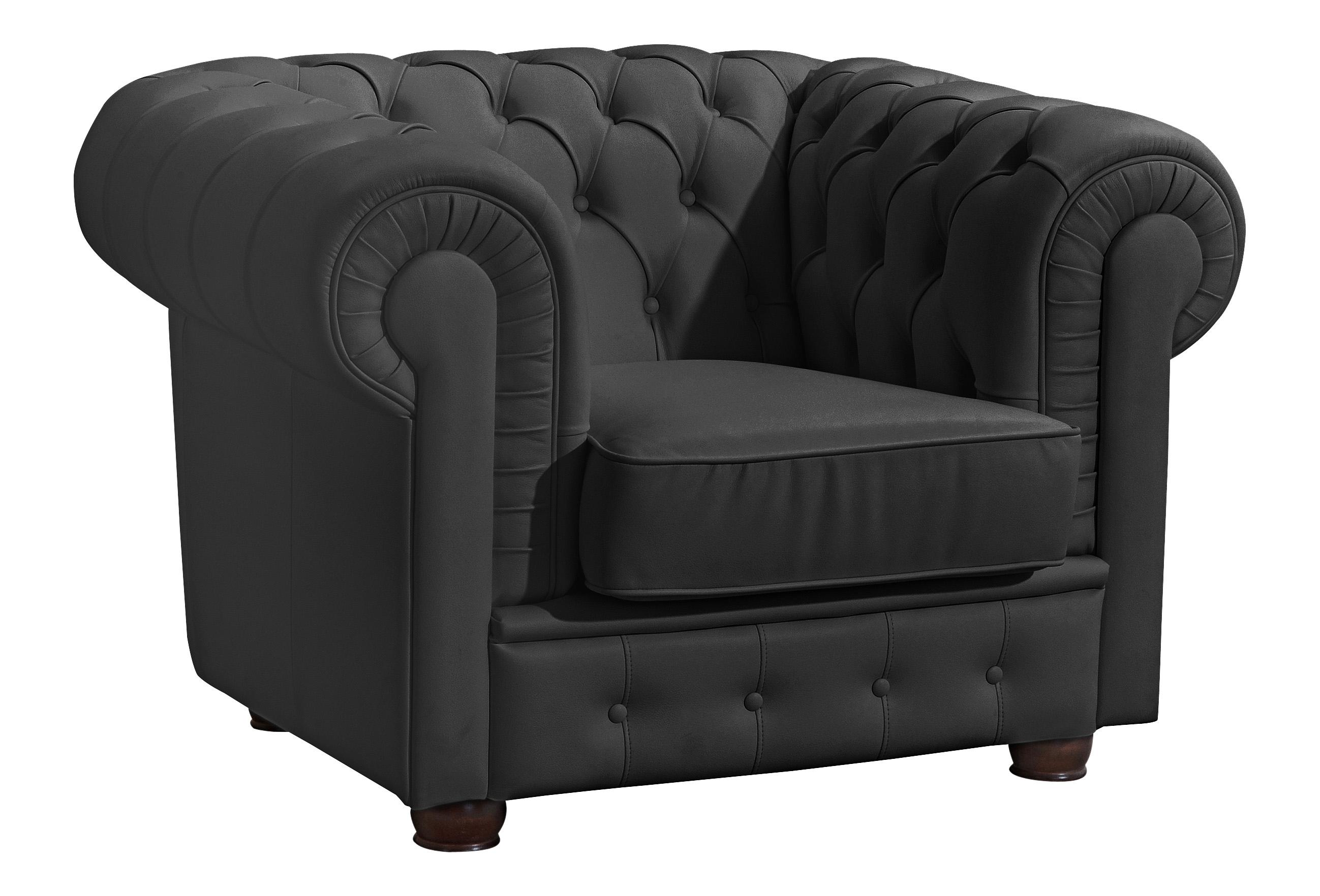 Max Winzer ® chesterfield-fauteuil »Windsor«, met chique capitonnage - gratis ruilen op otto.nl