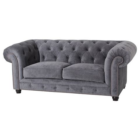 MAX WINZER® Chesterfield-bank Old Engeland 2 afm.