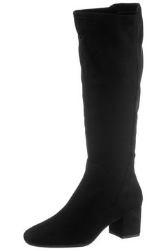 marco tozzi instaplaarzen zwart