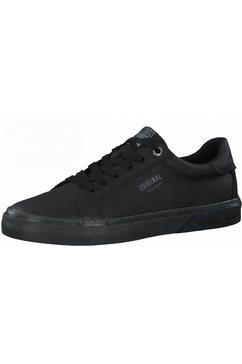 s.oliver sneakers met een logo-opschrift zwart