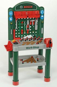 werkbank voor kinderen, incl. accessoires, klein theo, 'bosch'-work-shop multicolor