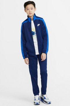 nike sportswear trainingspak (set, 2-delig) blauw