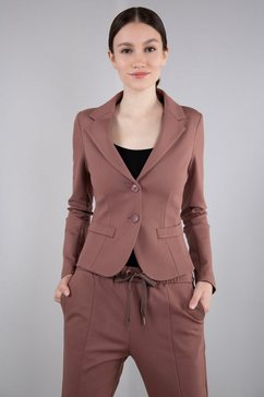 imperial korte blazer imp-j s24abe in athleisure-look roze
