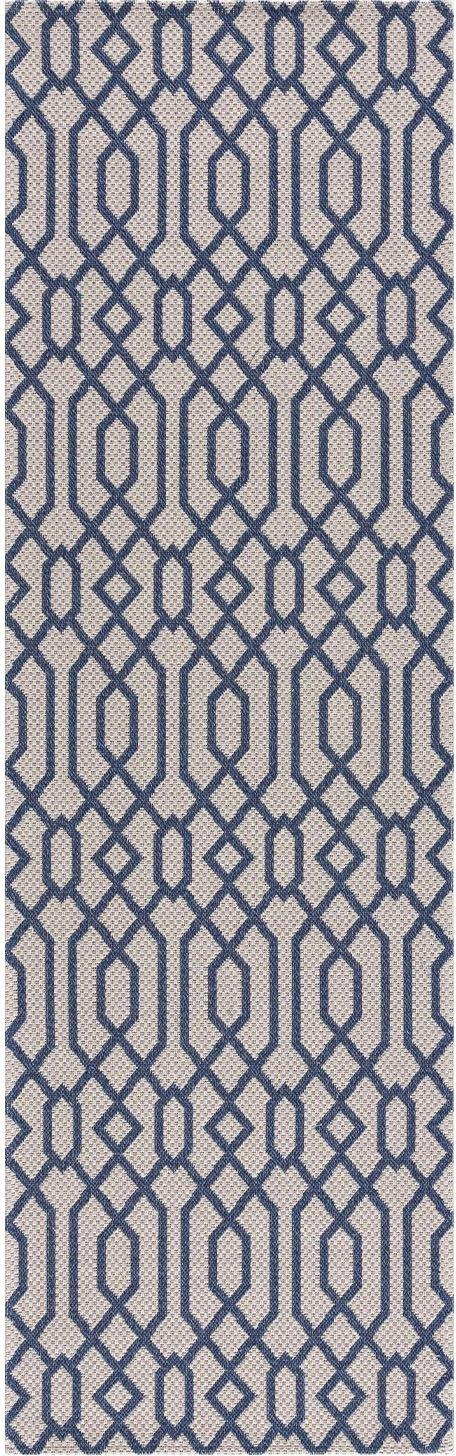 Carpet City loper Cotton Vlakpolig, zuiver katoen voordelig en veilig online kopen