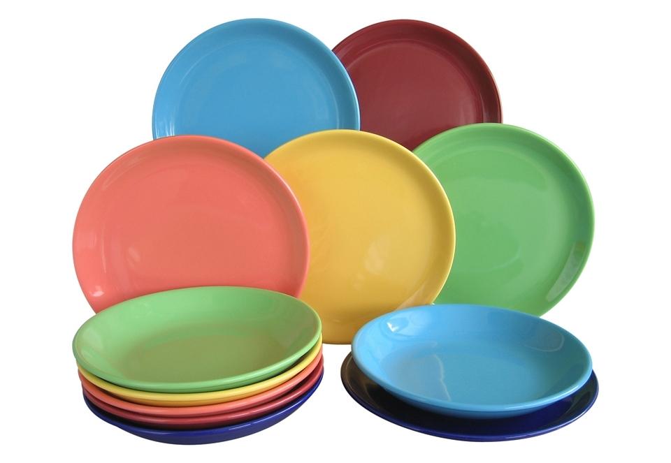 Creatable eetservies 'TOP, multicolour' (12-delig) voordelig en veilig online kopen