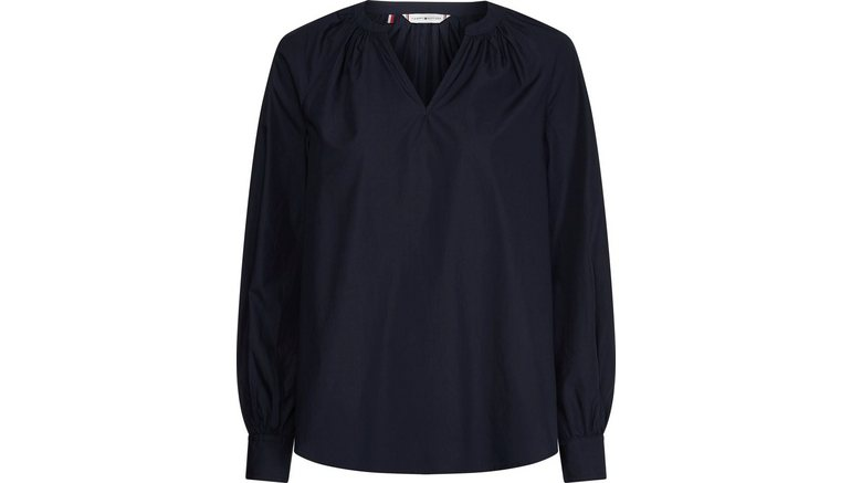 Tommy Hilfiger blouse zonder sluiting met kleine v-hals