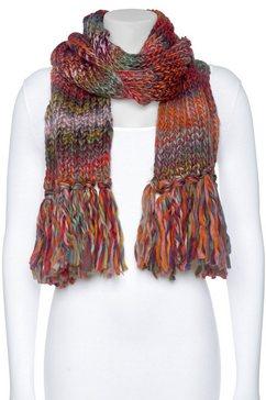 j jayz gebreide sjaal multicolor