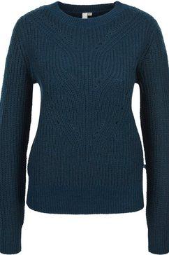q-s designed by gebreide trui blauw