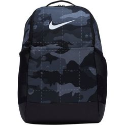 nike sportrugzak brasilia camo training backpack grijs