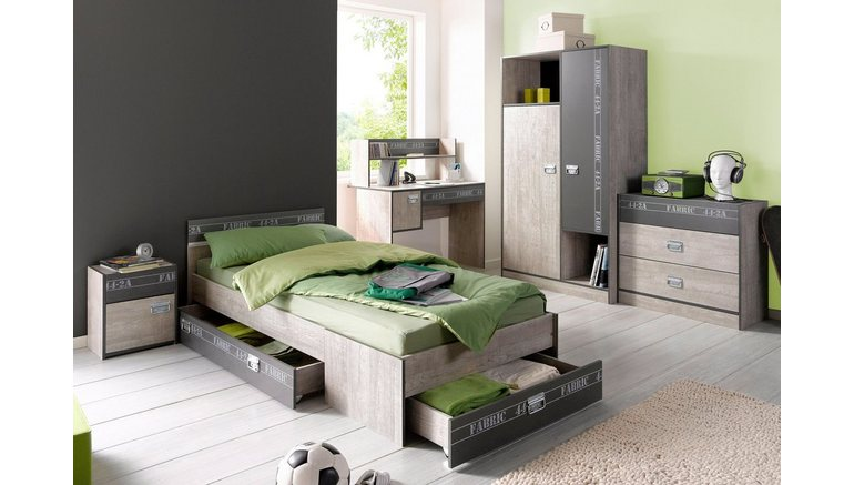 parisot tienerkamer fabric 4 delig makkelijk gevonden otto. Black Bedroom Furniture Sets. Home Design Ideas