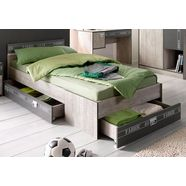 parisot bed fabric inclusief lade bruin