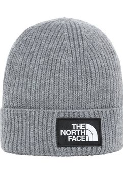 the north face gebreide muts voor kinderen grijs