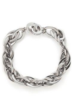 armband, jewels by leonardo, 'plait darlin's' zilver