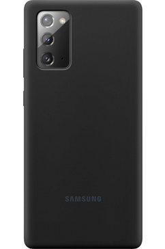 samsung gsm-hoesje silicone cover ef-pn980 voor note 20 zwart