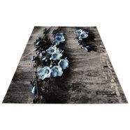 vloerkleed, »freya«, my home selection, rechthoekig, hoogte 8 mm, machinaal geweven blauw