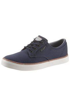 joop! sneakers met witte loopzool blauw