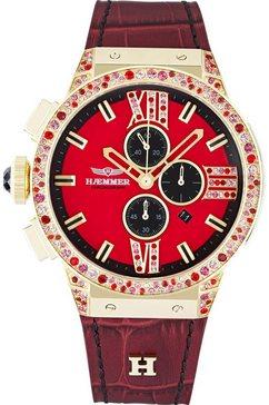 haemmer germany chronograaf »casy, e-008« rood