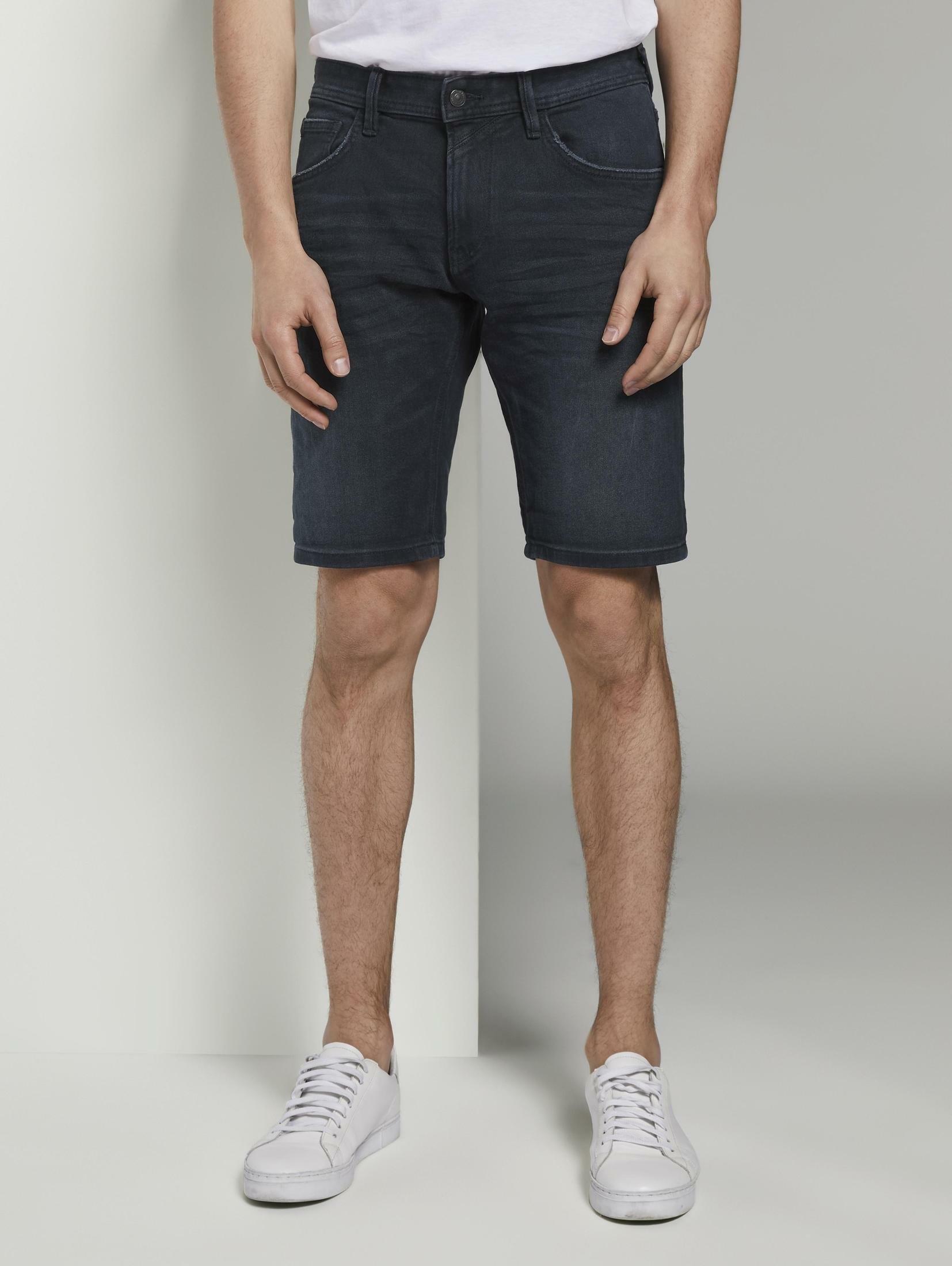 Tom Tailor Denim 5-pocketsjeans »Regular Jeansshorts in dunkler Waschung« voordelig en veilig online kopen