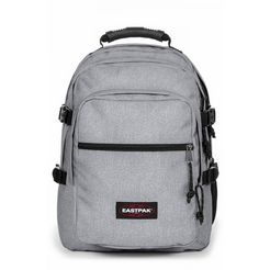 eastpak laptoprugzak walf, sunday grey bevat gerecycled materiaal (global recycled standard) grijs