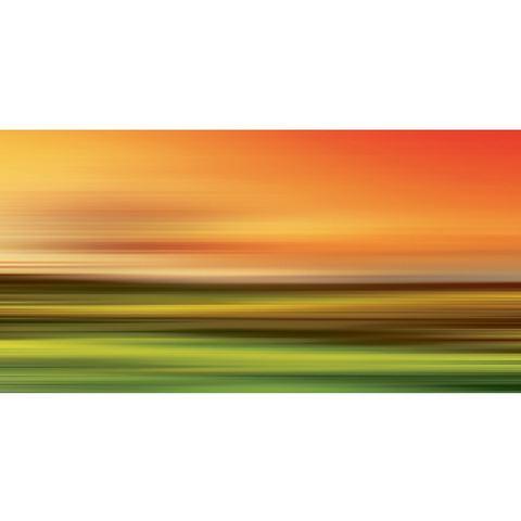 Glazen artprint Abstract strokes I in 2 afmetingen