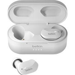 belkin wireless in-ear-hoofdtelefoon soundform wit