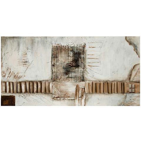 Schilderij op linnen 'Exceptionally', afm. 100x50 cm