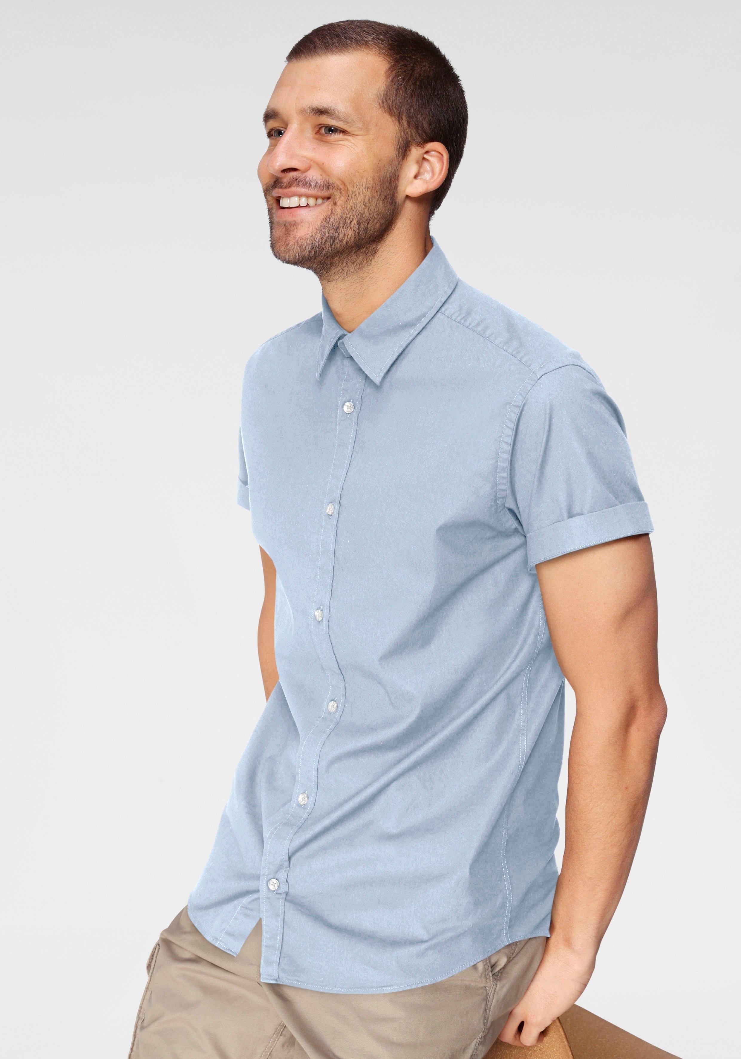 Jack & Jones overhemd met korte mouwen CLINT shirt goedkoop op otto.nl kopen