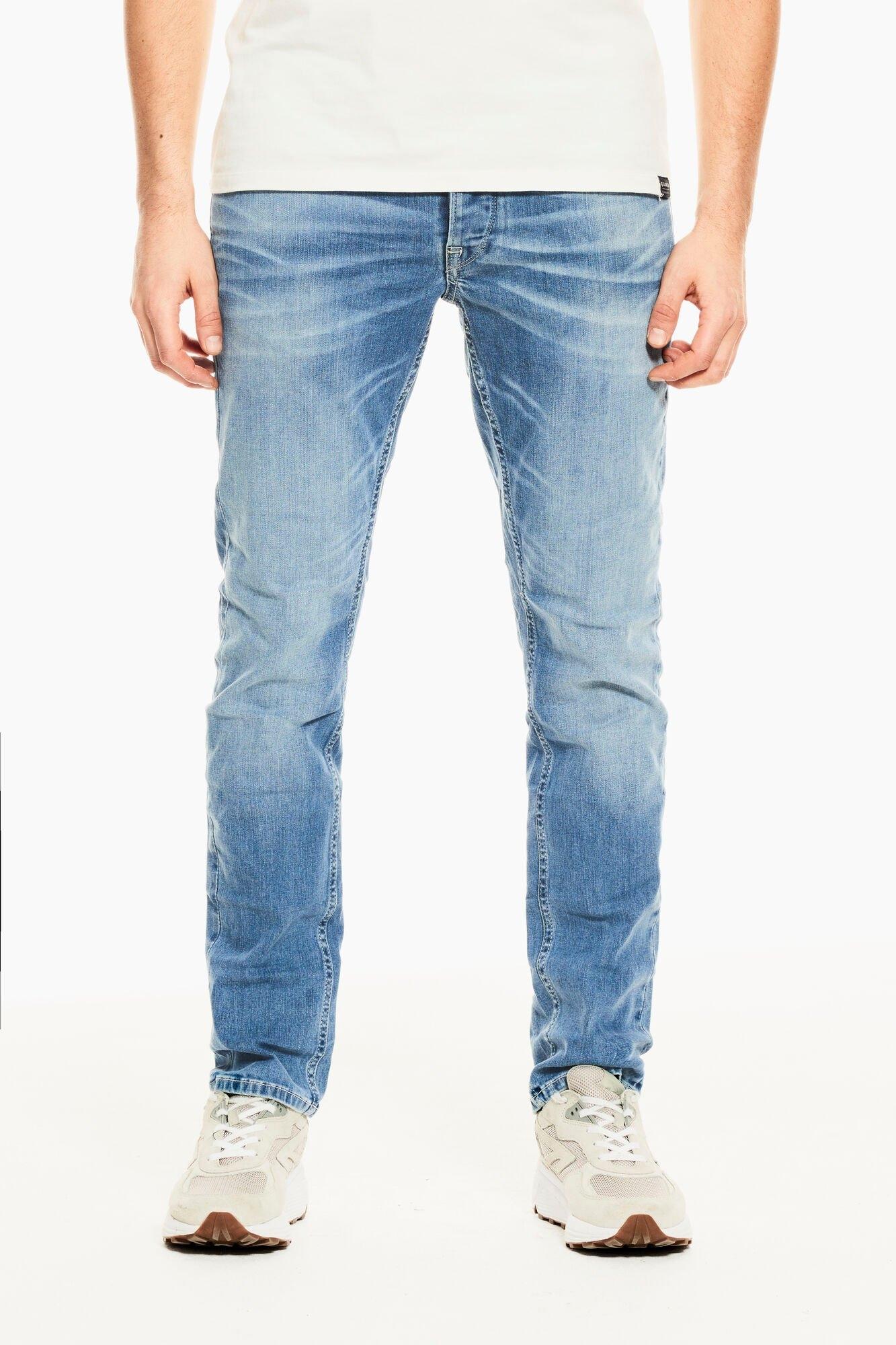 Garcia slim fit jeans met elastan nu online kopen bij OTTO