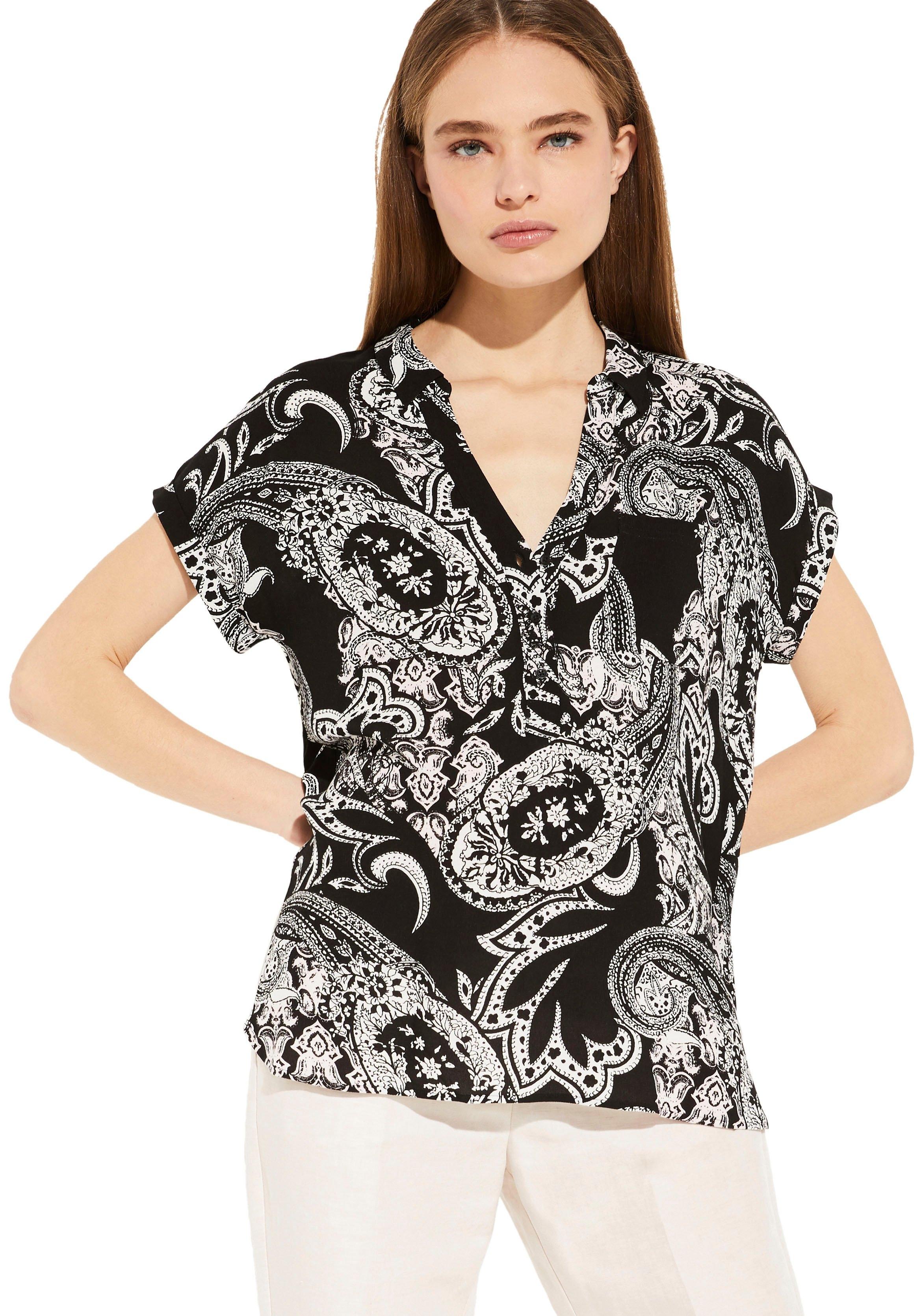 Comma gedessineerde blouse - verschillende betaalmethodes