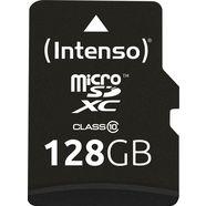 intenso »microsd karte class 10« geheugenkaart zwart