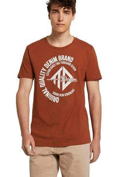 tom tailor denim t-shirt oranje