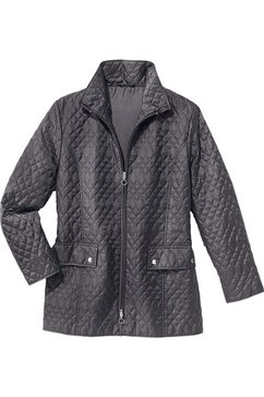 doorgestikt jasje grijs