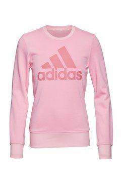 adidas performance sweatshirt adidas girls essentials big logo sweatshirt roze