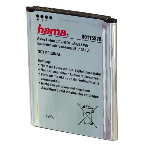Hama Li-Ion batterij Galaxy S3 EB-L1G6LL