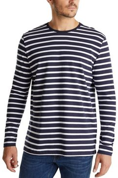 esprit shirt met lange mouwen gestreept blauw