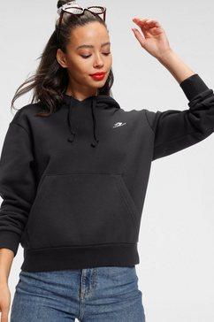 converse hoodie womens embroidered star zwart