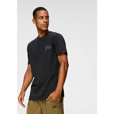 Quiksilver T-shirt BLACK GOLD TO GLASS