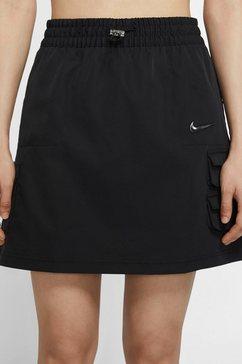 nike sportswear minirok nike sportswear swoosh women's skirt zwart