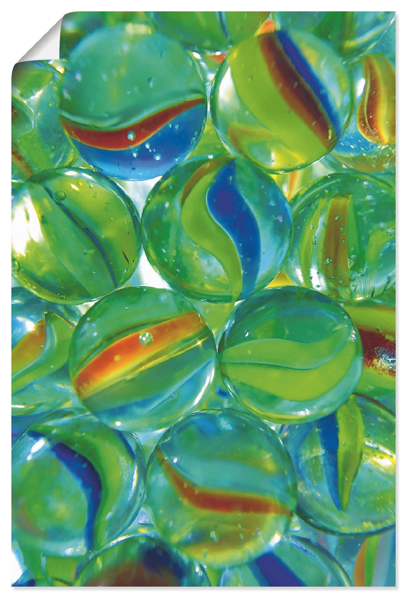 Artland artprint Knikkers in vele afmetingen & productsoorten - artprint van aluminium / artprint voor buiten, artprint op linnen, poster, muursticker / wandfolie ook geschikt voor de badkamer (1 stuk) voordelig en veilig online kopen